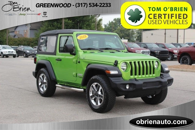 Tom O Brien Jeep >> 2018 Jeep Wrangler Sport 4x4 In Indianapolis In Indianapolis Jeep
