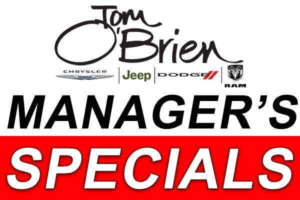 Jeep Dealership Indianapolis >> Used Car Specials in Indianapolis, In | Tom O'Brien ...